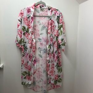 Show Me Your Mumu Floral Lightweight Robe S